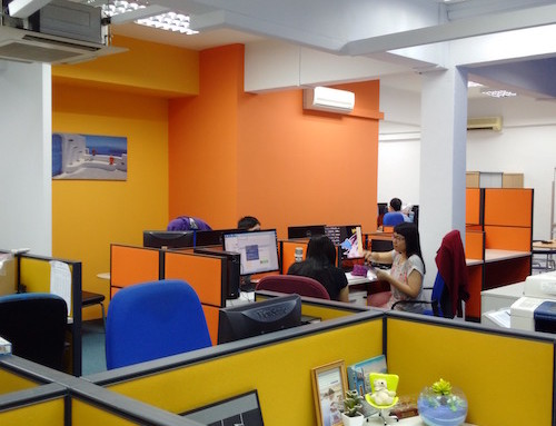 Office Renovation at Bukit Merah Central